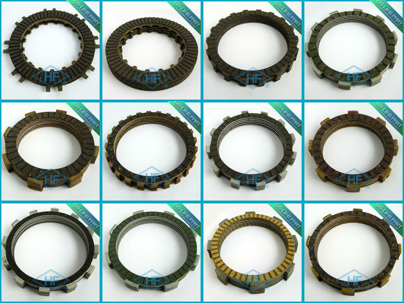 JH70 CD70 clutch plate manufacturer sells motorcycle clutch friction disc plate