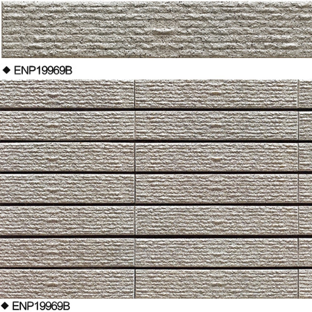 Good looking design exterior wall tiles linear cut for Exterior wall designs
