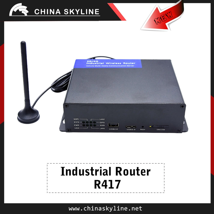 Hot selling industrial wireless 2G 3G 4G router for vending machine application
