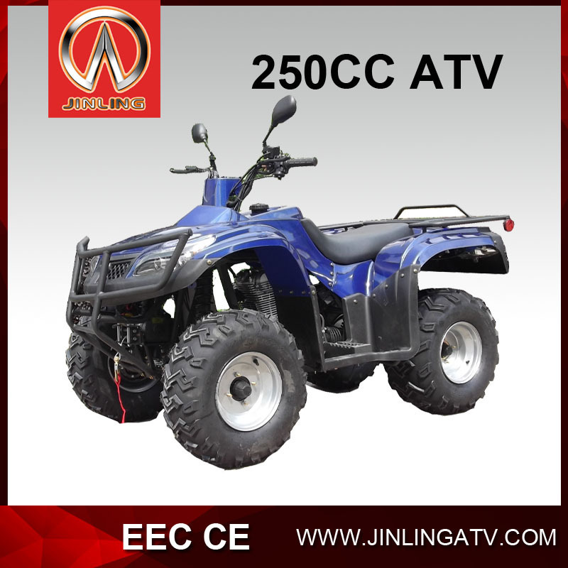 JLA-24-14- 10-250AW air cooled semi automati atv quad for adult CVT transmision high quality cheap price hot sale