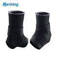 Hot selling compression release neoprene ankle support shoes brace straps