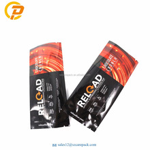 Food Grade Laminated Aluminum Foil Custom Printed Food Bar Packaging