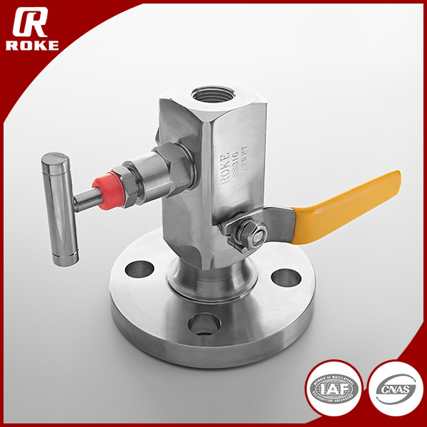 Forged Stainless Steel Block and Bleed Valve Flange Block Valve