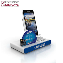 Best Quality Counter Rack Acrylic Mobile Phone Display Stand With Logo