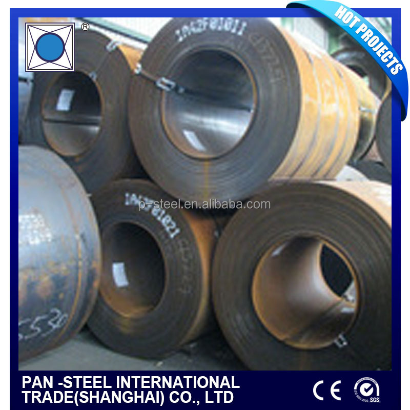 HR SS400 Q345 Q235 Hot rolled steel coils / plates price from China