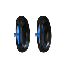 Best price 4.00-8 sturdy pu foam solid tire for barrow