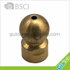 Brass shower head ball joint