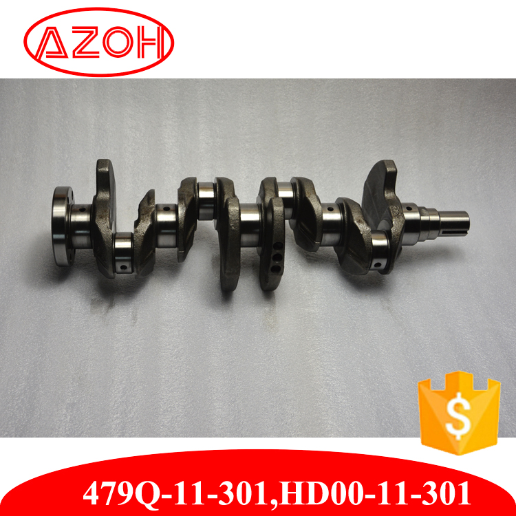High Quality Original crankshaft new HD00-11-301,479Q-11-301for Haima 3 engine 479Q
