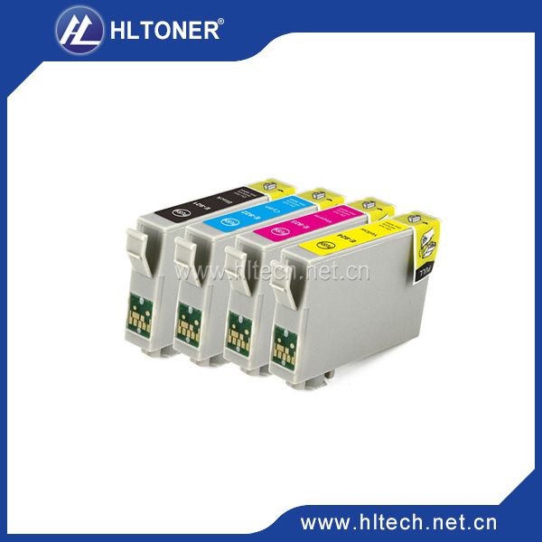 Compatible For Epson T0921 T0922 T0923 T0924 ink cartridge for Stylus C91/CX4300,T27