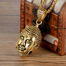 Fashion Buddha Pendants Gold Charms Design Men's Jewellery