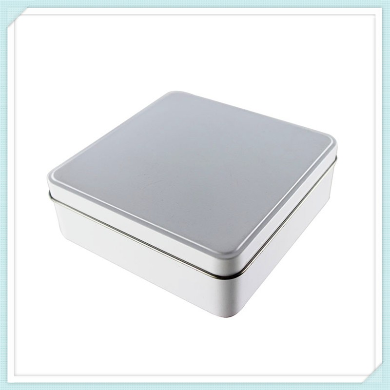 Proffessional Gift Round Shape Small Metal Tin Boxes With Embossing