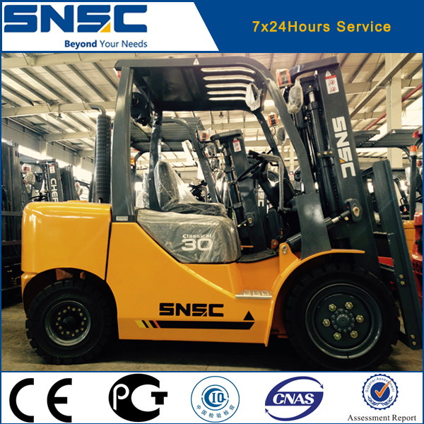 Diesel Engine Power Souce and Manual Pallet Truck Type diesel forklift truck 3t