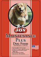 Joy Maintenance Plus Dog Food