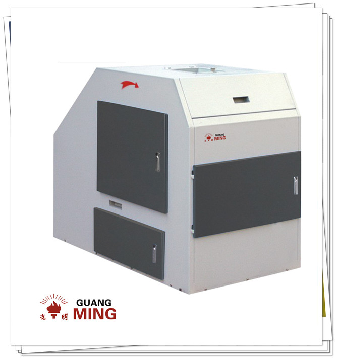 Small electric rock roll crusher used in laboratory for crushing rock, stone to powder