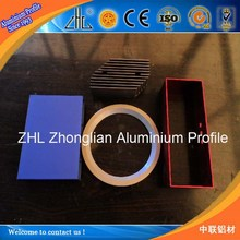 GOOD! New develop aluminum melting machine for anodizing aluminum deep cnc processing anodized aluminum rings