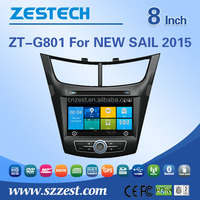 car dvd GPS Car Audio player For Chevrolet NEW SAIL 2015 with Win CE 6.0 system 800MHz MCU 3G Phone GPS DVD BT