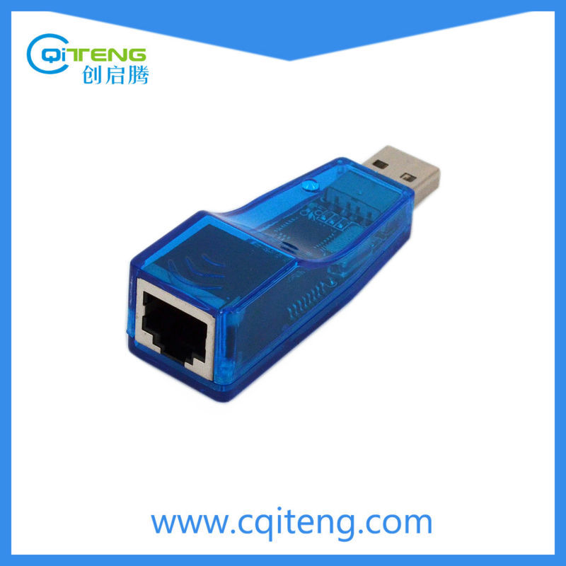USB 2.0 LAN RJ45 Ethernet 10/100 Mbps computer adapters card For Laptop PC