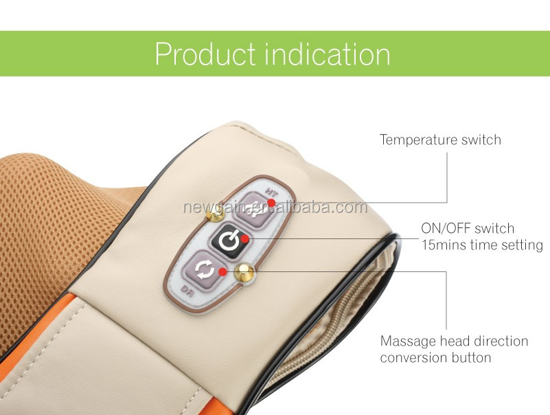Health Care products. Fashion body massager. Personal Electric neck and shoulder massage