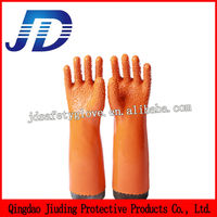 JD868 30 Long sleeve non slip labor protection gloves for chemical