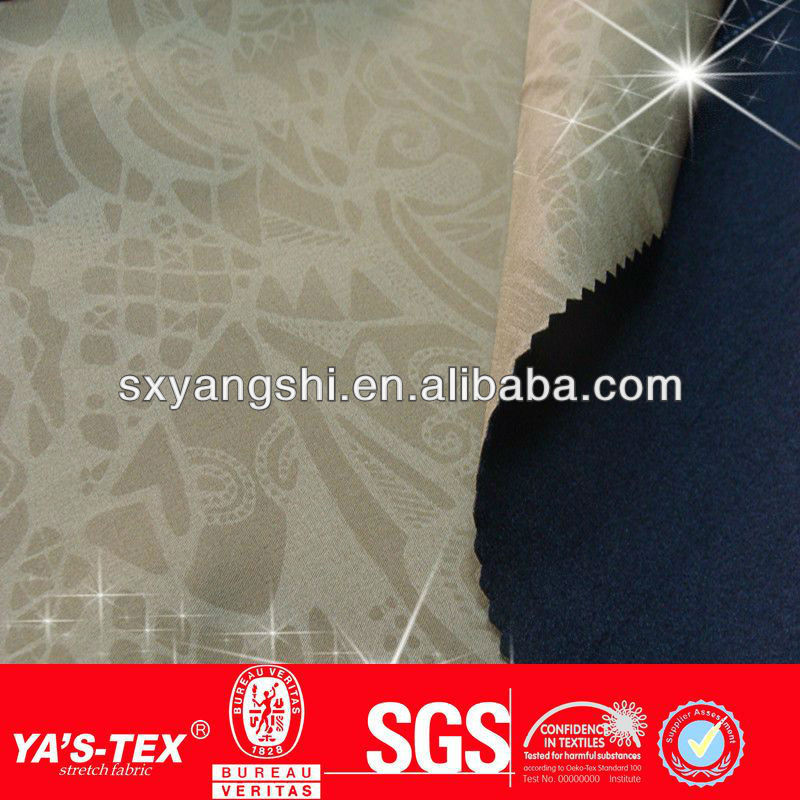 embossed men's sweatshirt fabric/fleece bounding fabric/ stretch ski suit woven fabric