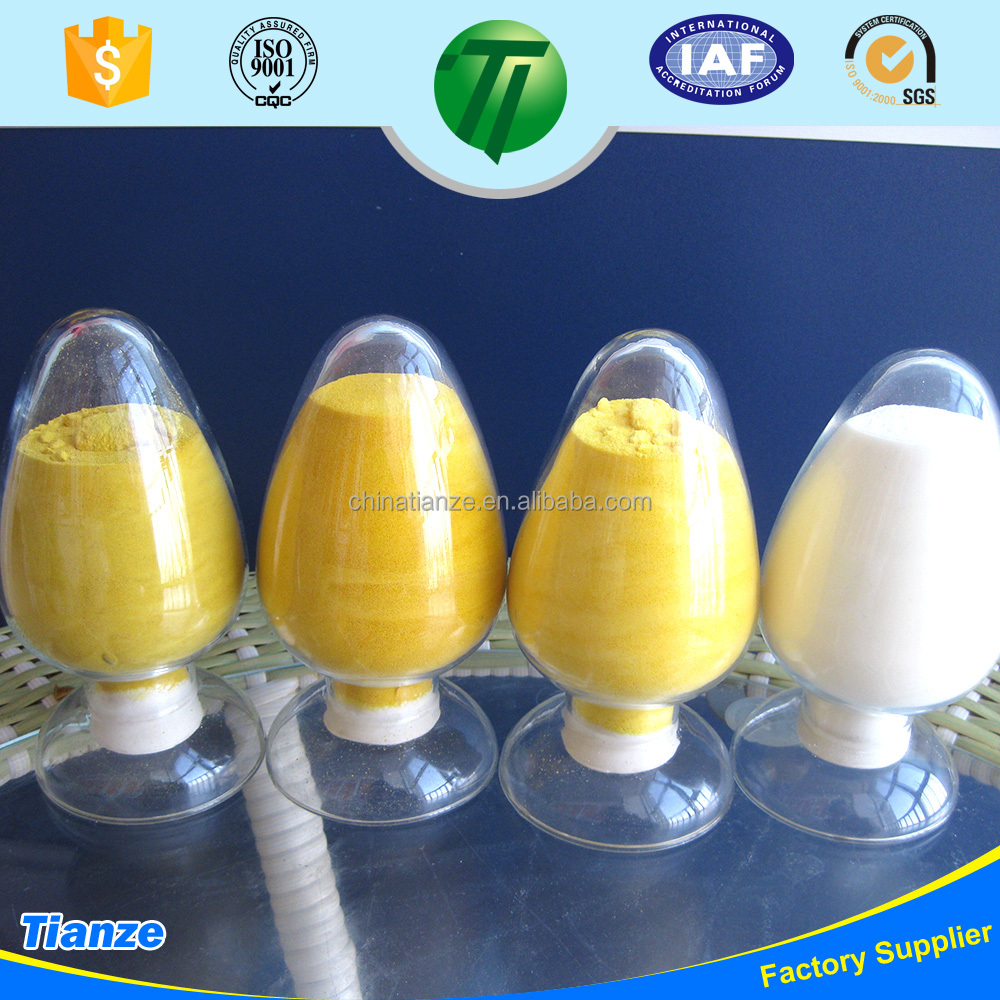 PAC Polyaluminum Chloride for Thailand textile waste water purify