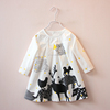 New Design 100% Cotton High Quality casual party baby cotton frocks designs