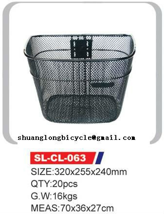 Hight Quality front basket for bicycle