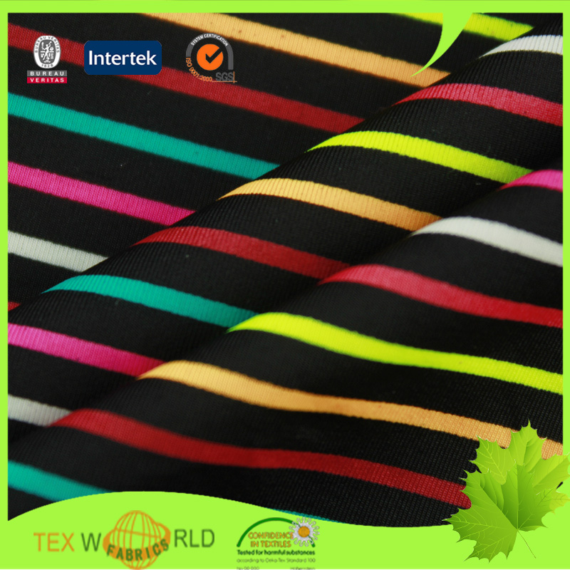 micro weft knitted 83 nylon 17 spandex fabric