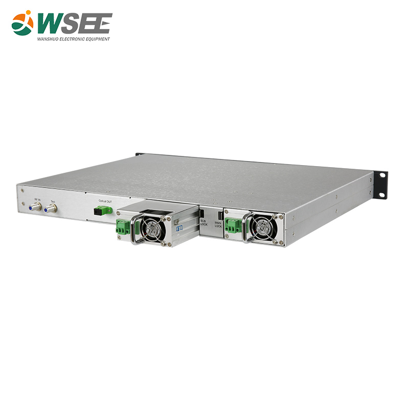 1U rack 1550nm direct modulation CATV fiber optic transmitter