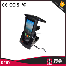 New design quad core android / Win CE rugged barcode scanner android rfid reader phone