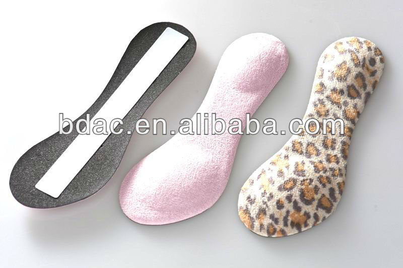3/4 foam insoles lady sandal insoles half insoles for high heels
