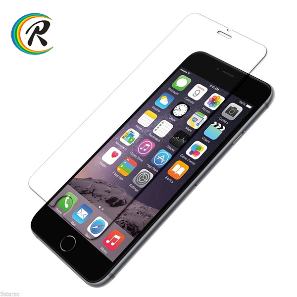 Paypal accept anti shock clear tempered glass screen protector for iPhone 7 ultrathin tempered glass