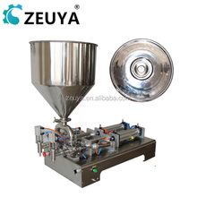 High Speed Automatic semi-auto garlic paste filling machine with heater and mixer G1WG Manufacturer