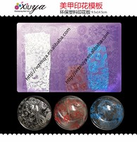 Acrylic /plastic nail art stamping plate/stamper/nail art tools