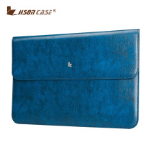 Jisoncase Leather Laptop sleeve case Notebook Bag Cover For Macbook Air 11.6 Inch Laptop Cases
