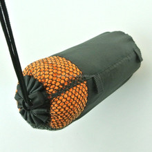 New Microfiber Waffle Travel Fitness Gym Sports Towel With Mesh Bag