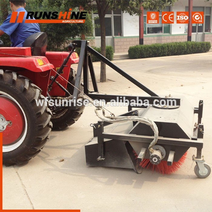 Superior Design Custom Logo Mechanical Sweeper Machine
