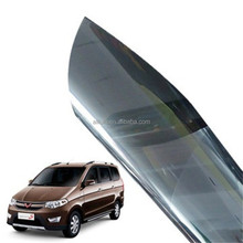 Non air bubble static cling protective film for car window glass