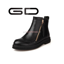 2015 Women Genuine Leather Ankle Snow Boot Ladies High Heel Fashion Safety Boots Shoes