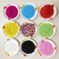 Wholesale 2mm round shape color full loose plastic beads