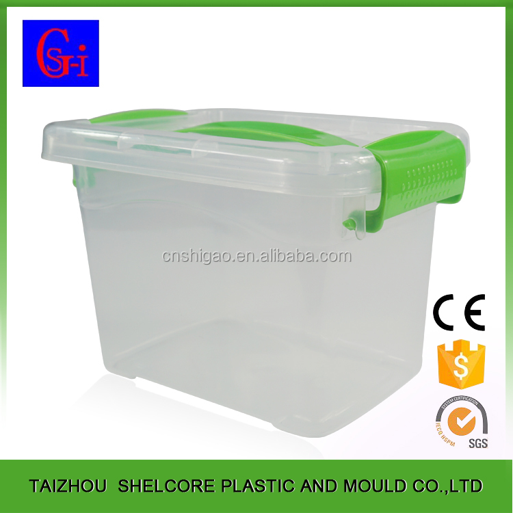 Quality-assured competitive price 4.5L clear plastic boxes