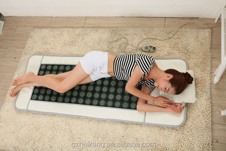 jade stone far infrared negative ion heating pad portable far infrared ray sauna