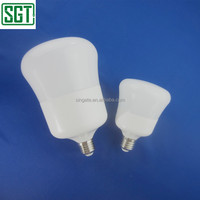 Good quality 15w 20w 30w SMD, IC driver, PF>0.5, Plastic+Aluminum led mushroom lights