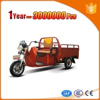 covered electric passenger tricycle three wheel large cargo motorcycles