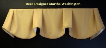 Designer Valances As Seen In Designer Magazines