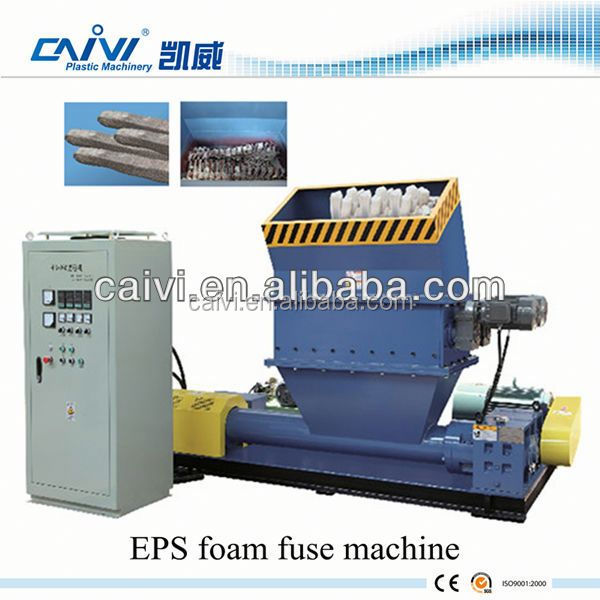 Foam fuse EPS Recycled Machine/Plastic EPS recycling line
