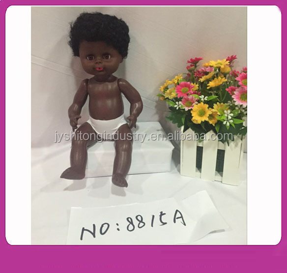 Black Baby Dolls Mini,Black Silicone Reborn Baby Dolls,Black Fashion Dolls