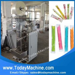 0-300ml Popsicle / jelly / liquid beverage filling and packaging machine for the flow of liquid