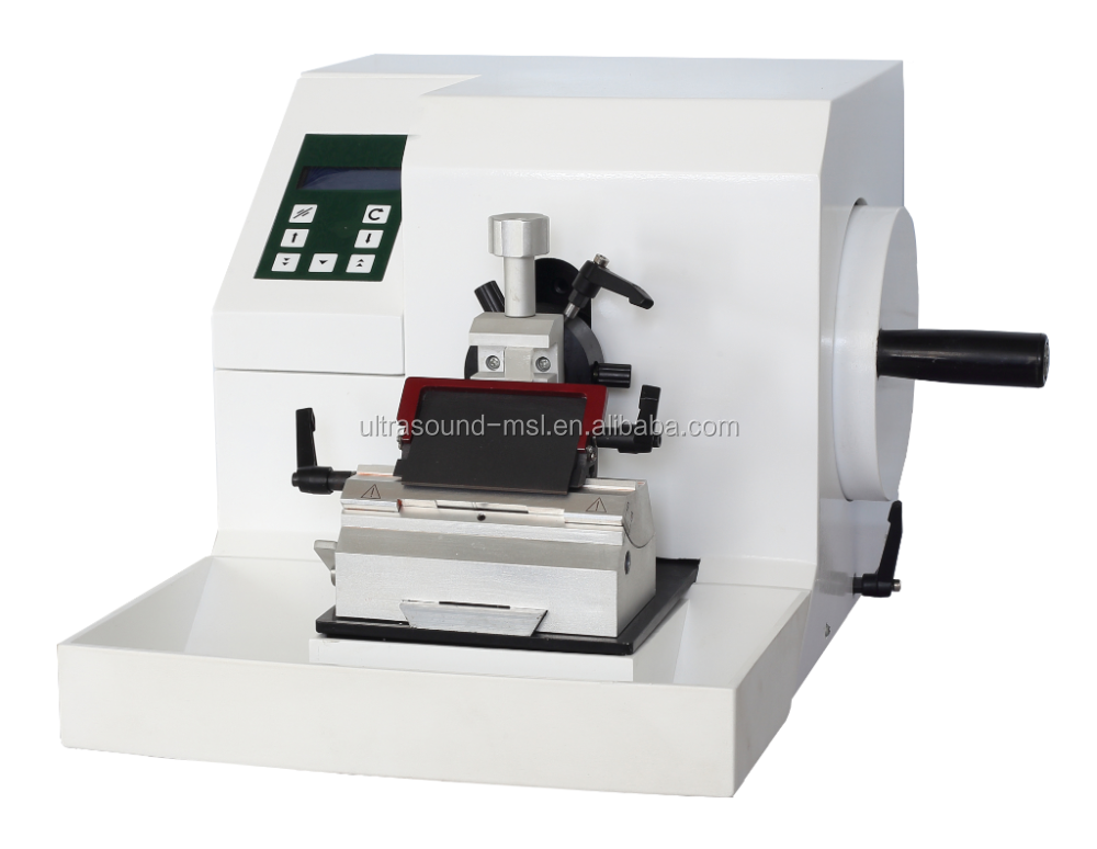 Semi-automatic rotary microtome/ sliding microtome/tissue microtome MSLK223