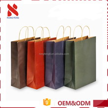 Super quality Decorative personalized custom design china gift black paper bag manufactures